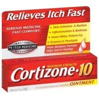 Cortizone 10 Maximum Strength Hydrocortisone Anti-Itch Ointment - 1 Oz