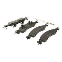 Motorcraft Standard Premium Brake Pad Set, Organic