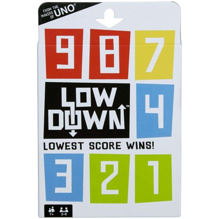 Lowdown Card Game- Lowest Score - Truth Or Dare Card Games