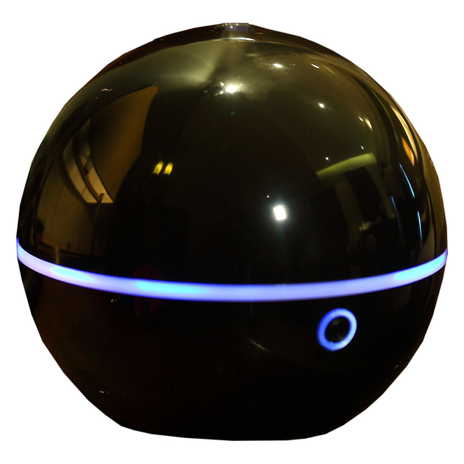 Ball Shape Ultrasonic Anion Diffuser. Home, Office, Room Decor. And Humidifier. Comes complete with a power adapter Product Size: 4.72x5.31x4.72