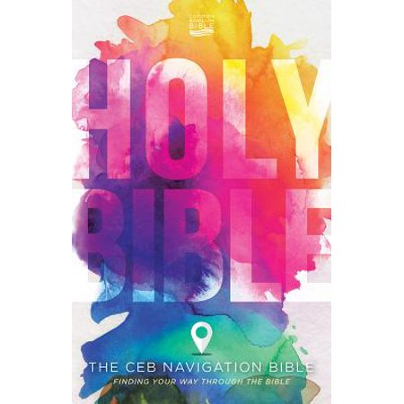 The Ceb Navigation Bible - Hardcover : Finding Your Way Through the Bible - Book Of The Bible
