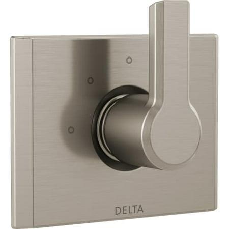 Delta Pivotal 3-Setting 2-Port Diverter Trim, Stainless