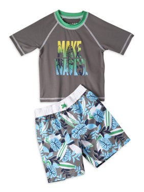 iXtreme Boys Make Waves Rashguard and Swim Trunk Short Set Sizes 4-7