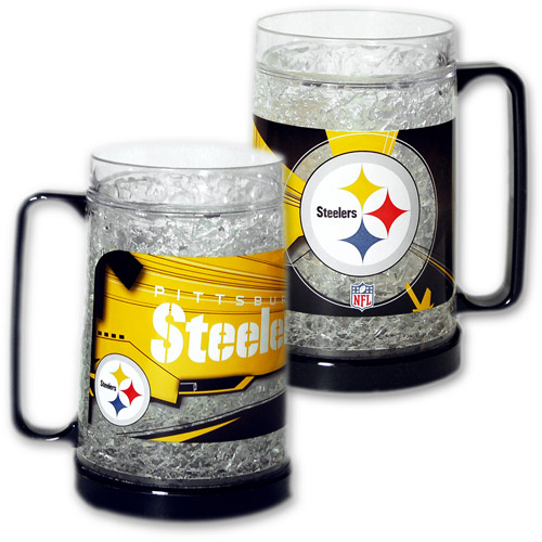 Nfl Pittsburgh Steelers Crystal Freezer