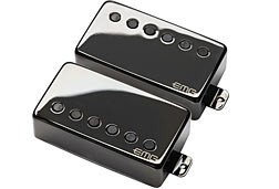 EMG JH Set James Hetfield Guitar Pickup Set Black Nickel Finish