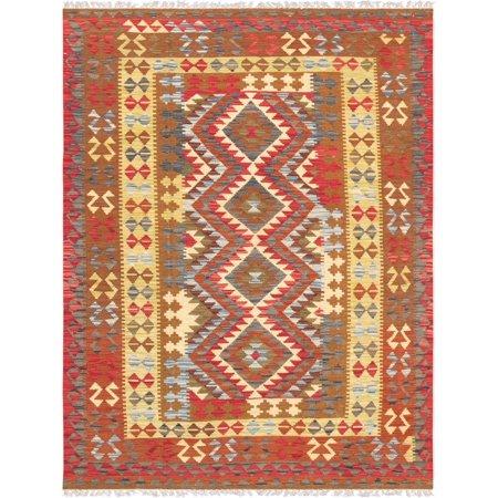 Turkish Anatolian Kilim Rug (Pasargad Anatolian Kilim Hand-Woven Wool Area Rug )