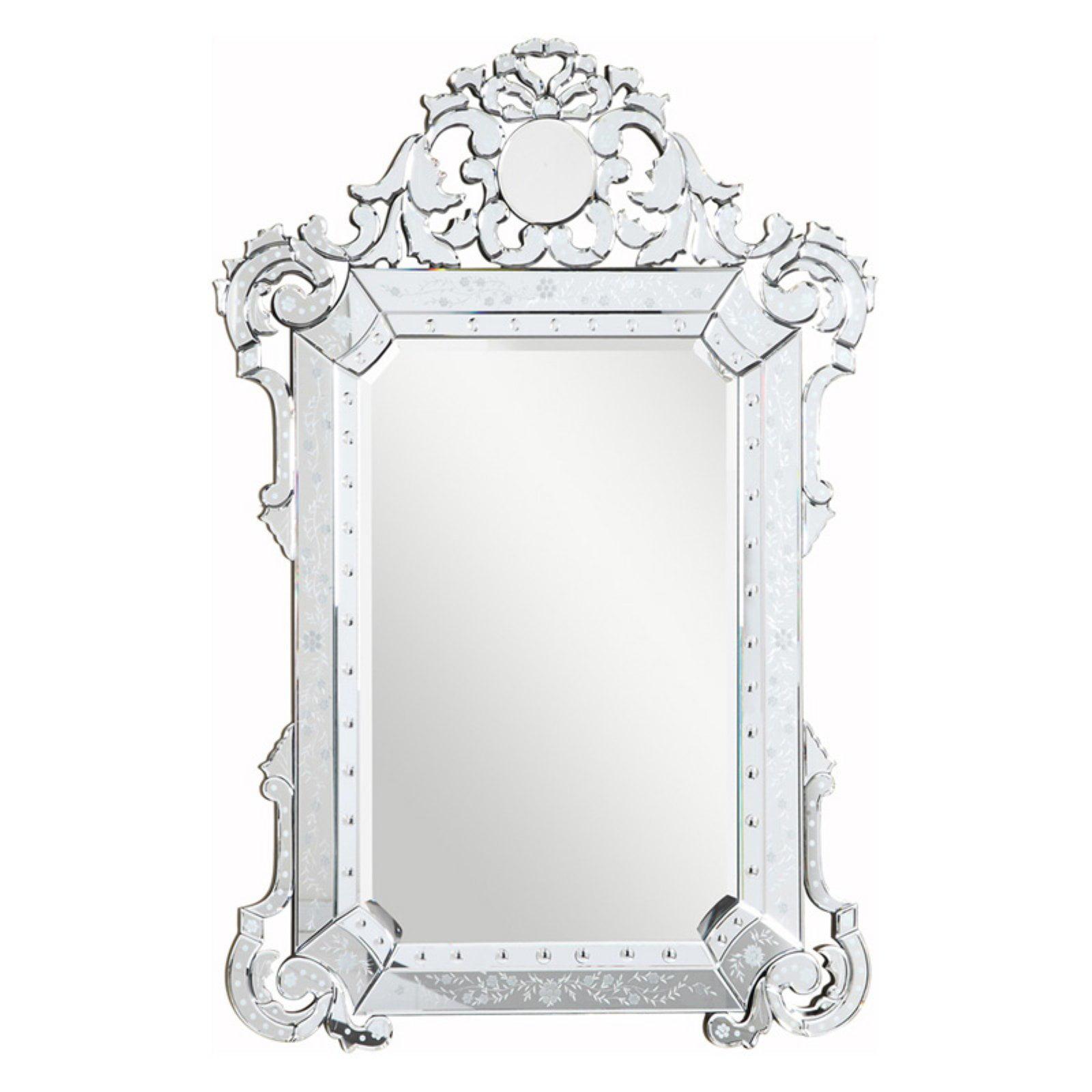 Elegant Furniture & Lighting Venetian Wall Mirror 39.25W x 55.25H in. by Elegant Lighting