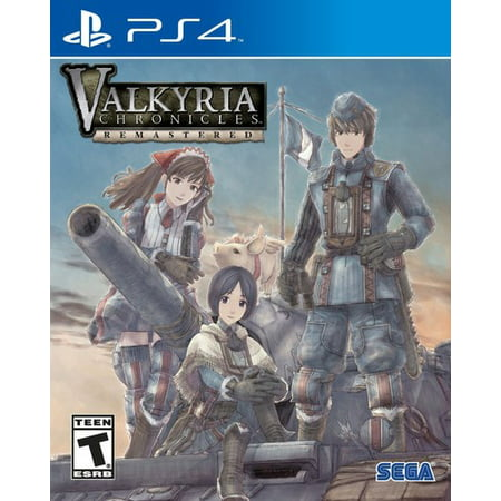 SEGA Valkyria Chronicles Remastered for PlayStation 4