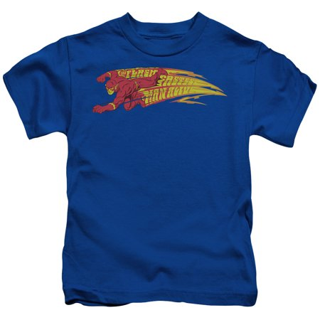 The flash dc comics superhero the fastest man alive little Boys superhero t shirts