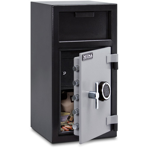 Mesa Safe MFL2714E-ILK Depository Safe 1.3 Cu Ft with Electronic Lock, Interior Locker