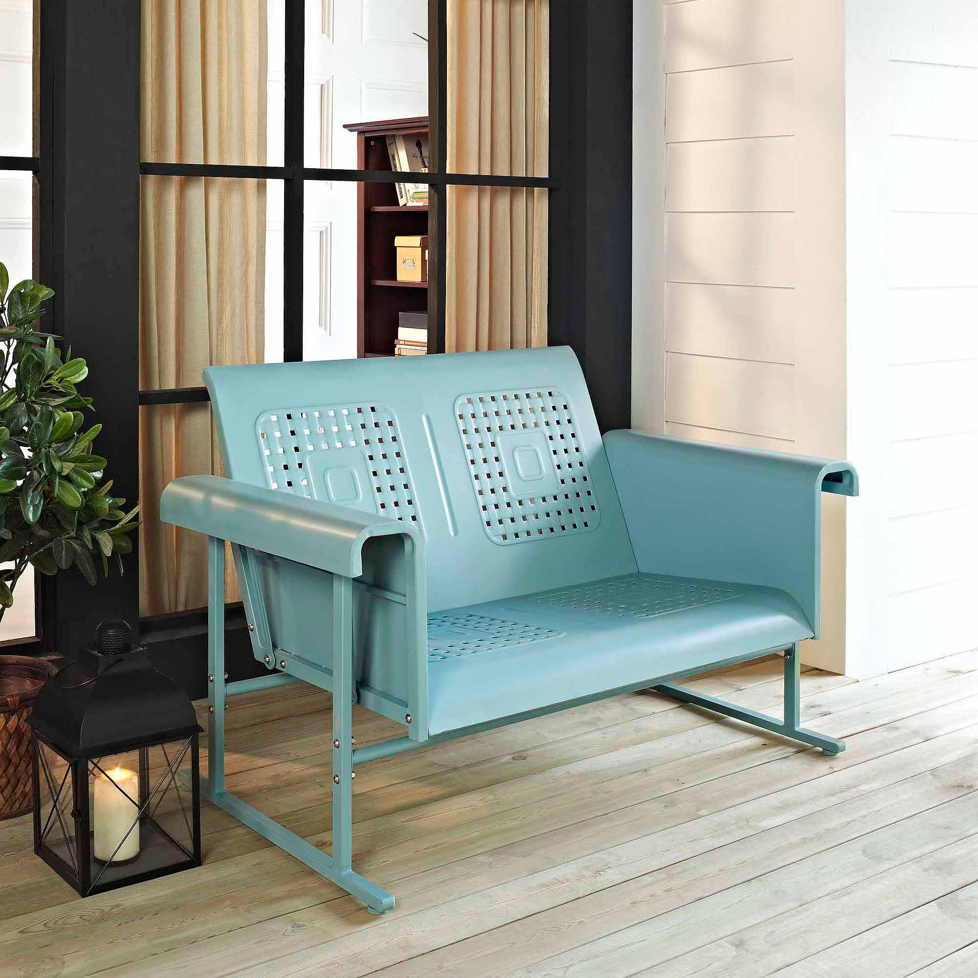 Crosley Furniture Veranda Loveseat Glide Walmart Com