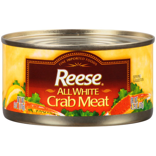 Reese All White Crab Meat, 6 oz