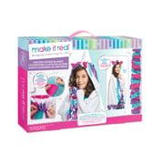 Make It Real Unicorn Hoodie Blanket, DIY Gift for Kids and Tweens, Ages 8+