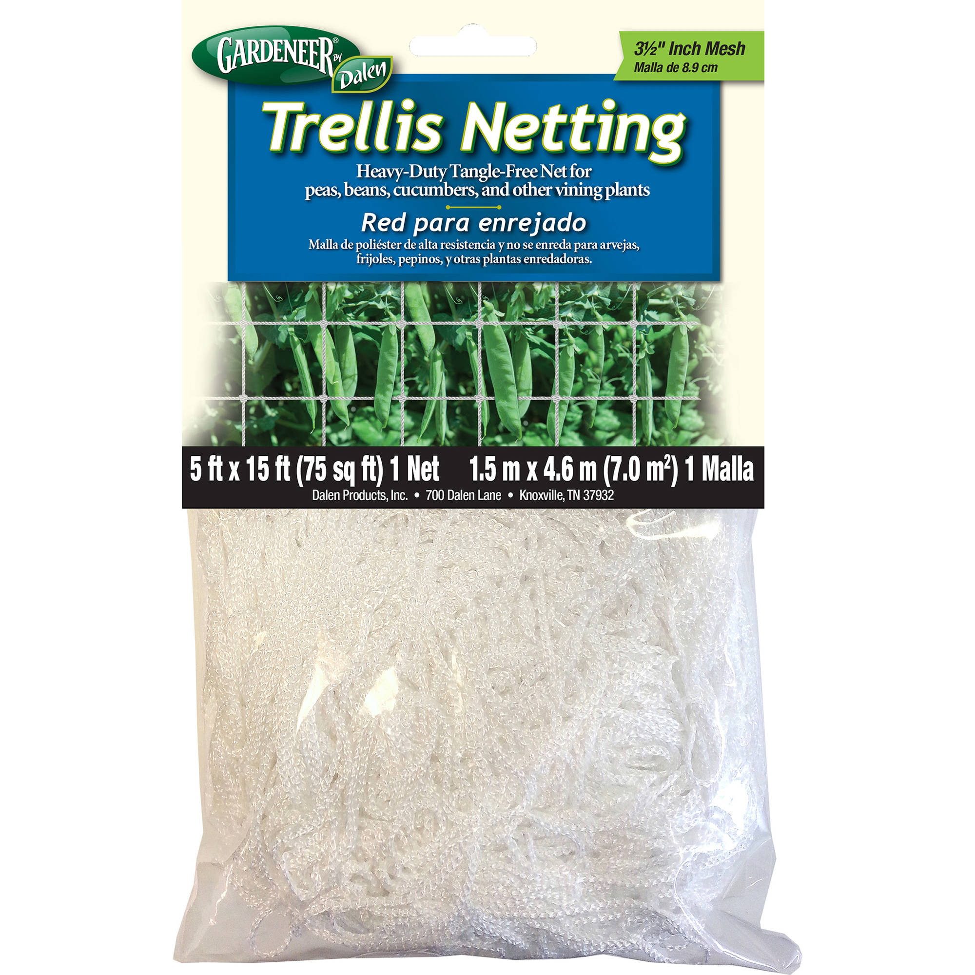 Gardeneer TPSM-15 5' X 15' Trellis Netting by Dalen Products