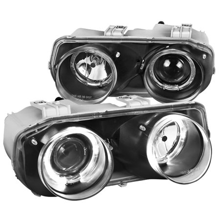 - Spec-D Tuning For 1994-1997 Acura Integra Replacement Halo Jdm Black Projector Headlights Lamps (Left + Right) 1994 1995 1996 1997