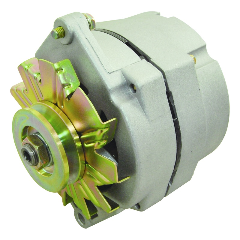 NEW ONE WIRE 1-WIRE ALTERNATOR GM DELCO 10SI LOW TURN ON ...