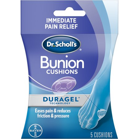 BUNION Cushions with Duragel Technology, 5ct (One Size)
