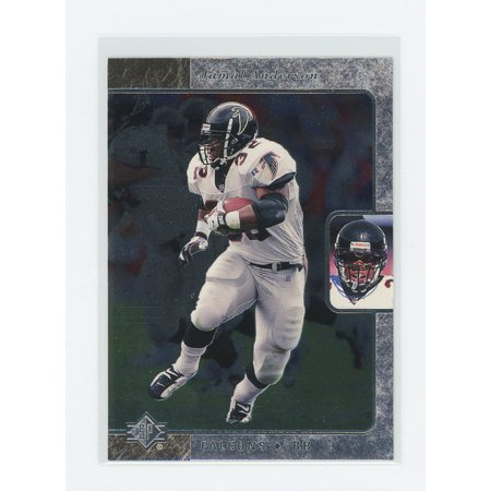 - 1995 SP Foil #59 Jamal Anderson Atlanta Falcons Rookie Card