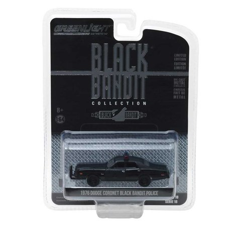 Black Bandit Series: 1976 Dodge Coronet Black Bandit Police 1/64 Scale (1976 Dodge Motorhome)