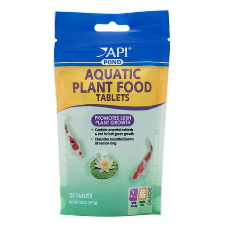 Pondcare Aquatic Plant Food Tablets, Potted Plant Food, 3.8-Ounce