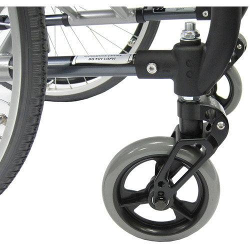 Karman Healthcare Shock Absorbers Wheelchair Frogleg