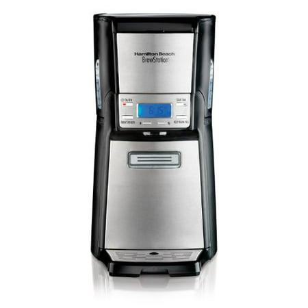 Dispensing Programmable Coffee Maker (Hamilton Beach 12-Cup Coffee Maker, Programmable Brewstation Dispensing Coffee Machine, Summit Ultra (48465) )