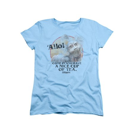 Labyrinth Jim Henson Film Movie Nice Cup Of Tea Beast Women's T-Shirt (Best Shirt For Women)