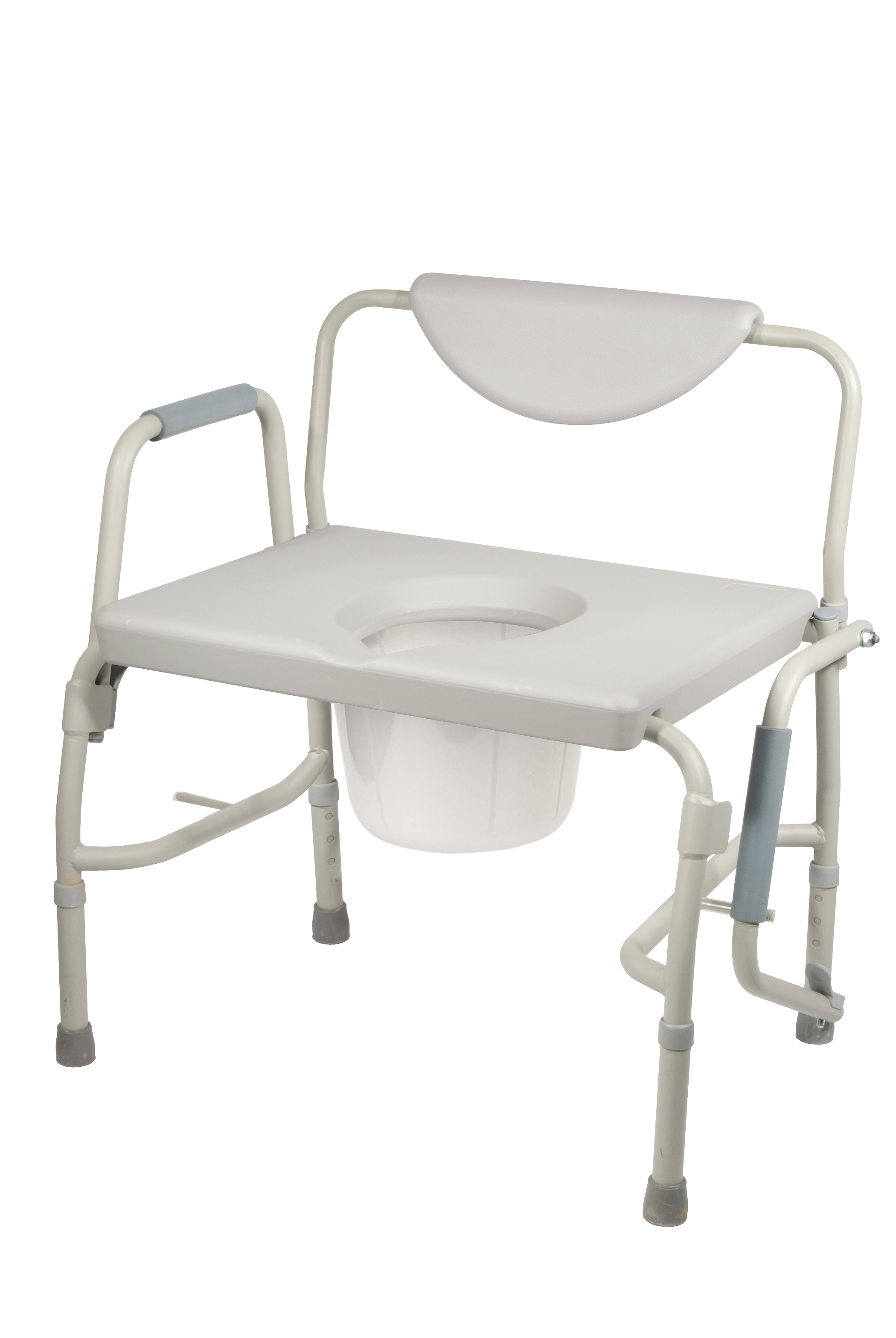 Drive Medical Bariatric Drop Arm Bedside Commode Chair  sc 1 st  Walmart & Drive Medical Bariatric Drop Arm Bedside Commode Chair - Walmart.com