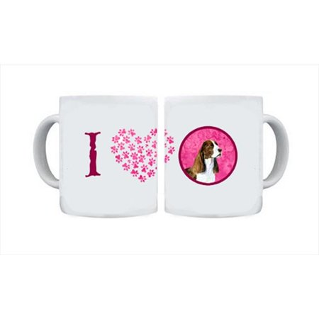 Carolines Treasures SS4789-PK-CM15 15 oz. Springer Spaniel Dishwasher Safe Microwavable Ceramic Coffee Mug - image 1 de 1