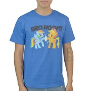 My Little Pony Bro Hoof Men's Blue T-shirt NEW Sizes S-2XL