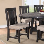 Modus Yosemite Solid Wood Dining Side Chair - Cafe/Toast - Set of 2
