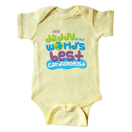 World's Best Cardiologist Daddy Infant Creeper