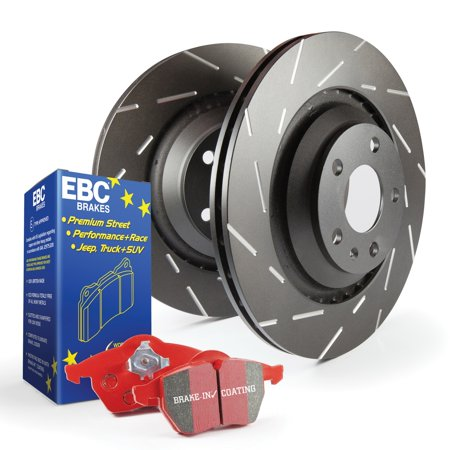 EBC Brakes S4KR1173 S4 Kits Redstuff and USR Rotor Fits 06-13 3 3 Sport ()