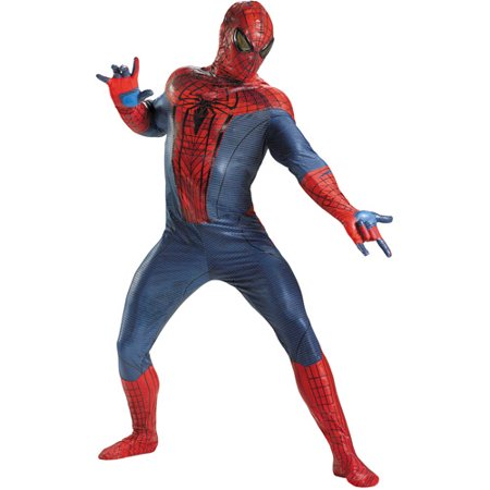 Spider-Man Movie Theatrical Adult Halloween Costume - Famous Couples From Movies For Halloween