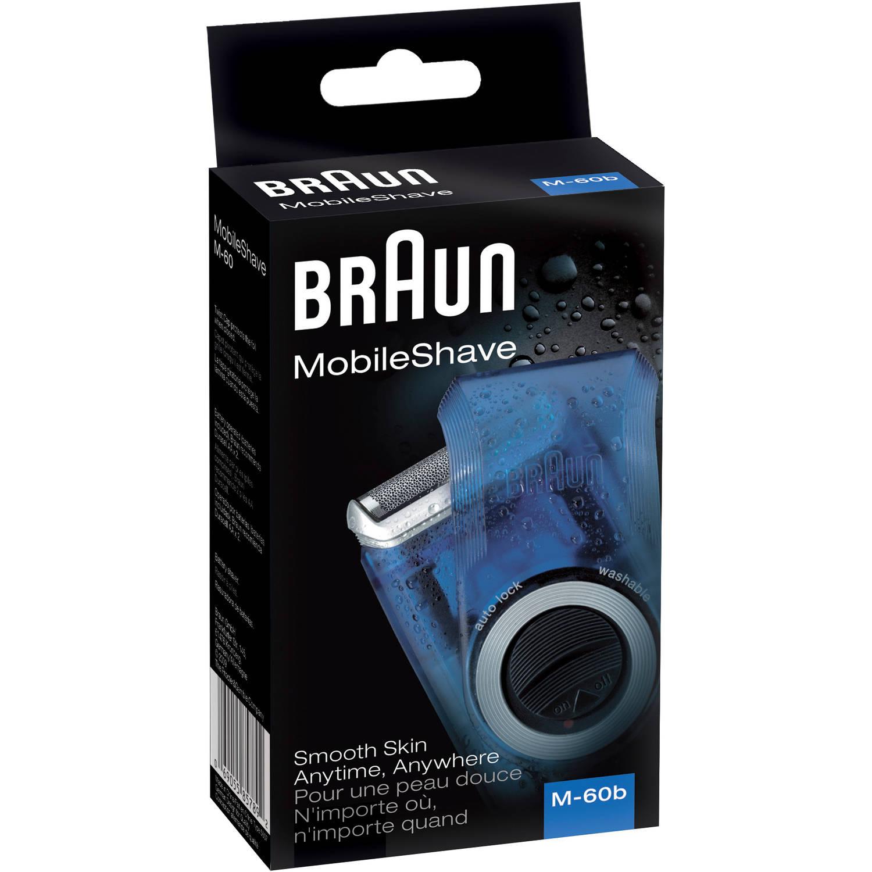 Máquina De Afeitar Afeitadora MobileShave de Braun, M60BV + Braun en Veo y Compro