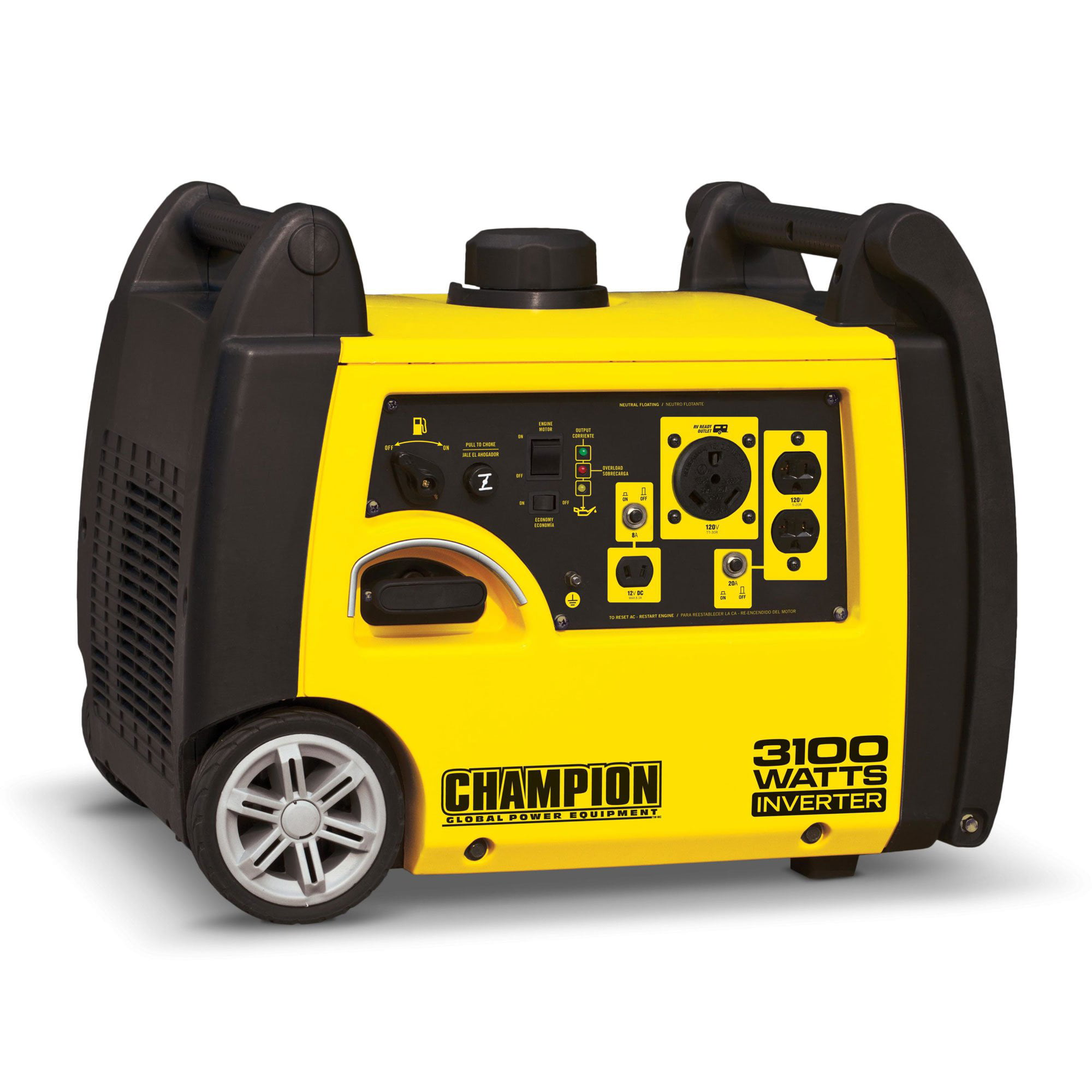 Champion 75531i 3100-Watt RV Ready Portable Inverter Generator by Champion Power Equipment