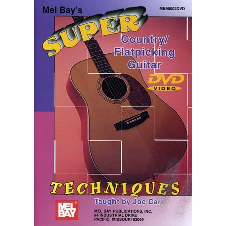 Super Country / Flatpicking Guitar Techniques (DVD)