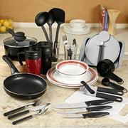 gibson home dorm kitchen 38-pc. combo set