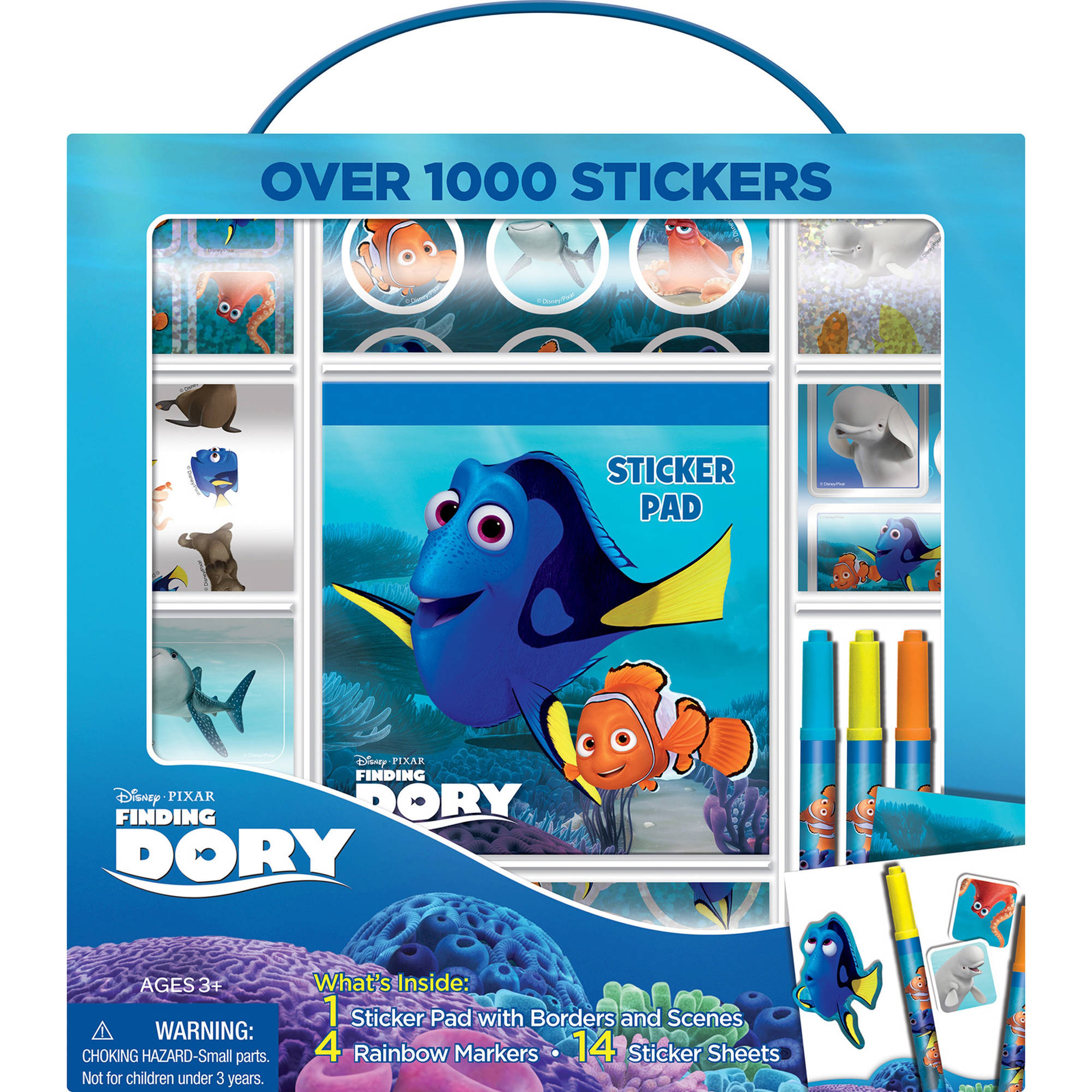 Bendon Disney PIXAR Finding Dory Sticker Box