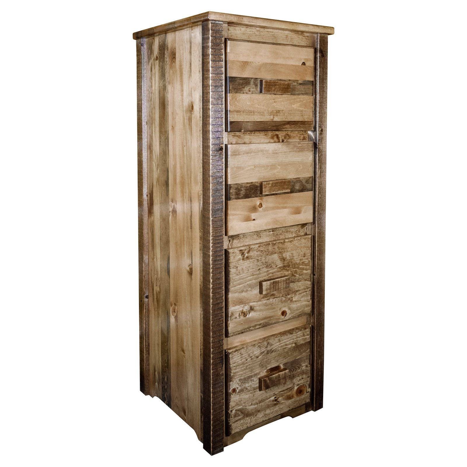 Montana Woodworks Homestead 4-Drawer File Cabinet