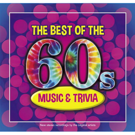 The Best Of The 60s Music and Trivia (CD) (Halloween Music Trivia)