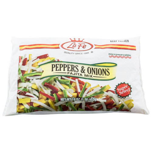 La Fe Peppers & Onion Fajita Mix, 16 oz