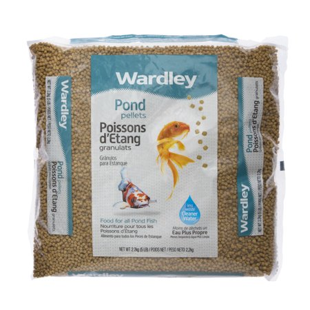 Koi Fish Feed (Wardley Pond Pellets Koi & Pond Fish Food, 5)