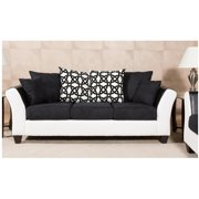 Chelsea Home Mount Washington Sofa with 4 Accent Pillows