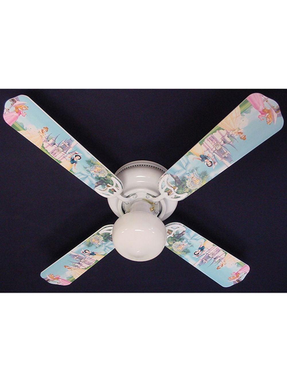 Disney S Princess Castle Print Blades 42in Ceiling Fan
