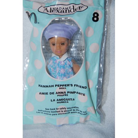 McDonalds Happy Meal 2003 Hannah Pepper's Friend Doll #8, By Madame Alexander Ship from US](Madame Alexander Halloween Treats)