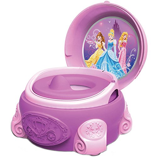 The First Years Disney Princess 3-in-1 Potty System, 3-in-1 system grows with your child By EDU-TOYS