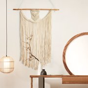 Retro Bohemian Macrame Woven Wall Hanging Fringe Garland Tapestry Unique Design Home Ornaments - Home/Decor/Wall Art/Wall Decor