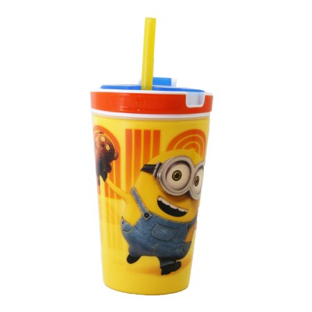 As Seen on TV Snackeez ! Jr Minions 2 in 1 Snack and drink Cup