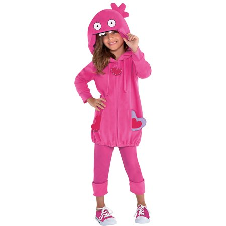 Party City UglyDolls Moxy Costume for Children, Includes a Hoodie, Leggings, and Heart (90's Costume Party City)
